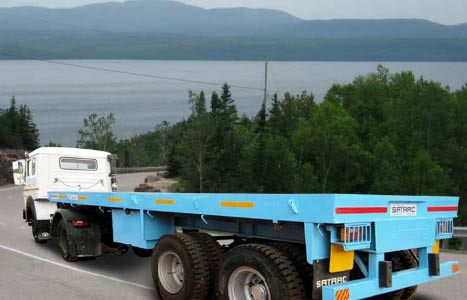 Custom Heavy Load Trailers Manufacturing in India