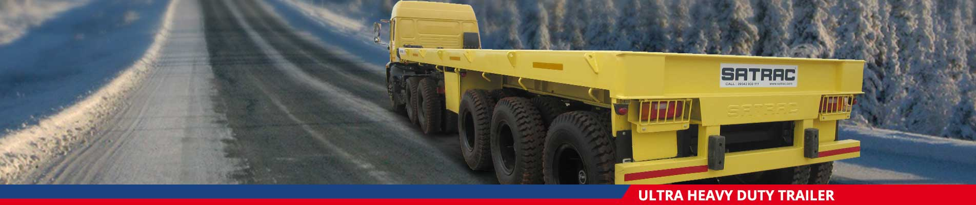 Ultra Heavy Duty Trailer Manufacturers in India