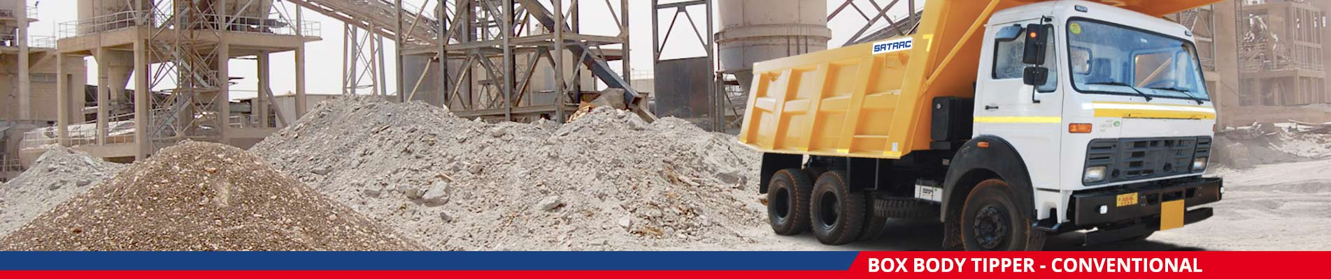 Box Body Tipper Conventional Manufacturers in India