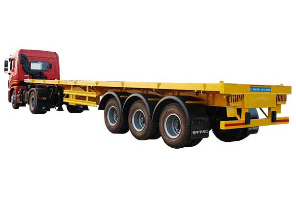Three Axle Flat Bed Trailer – 8.5 Mtr