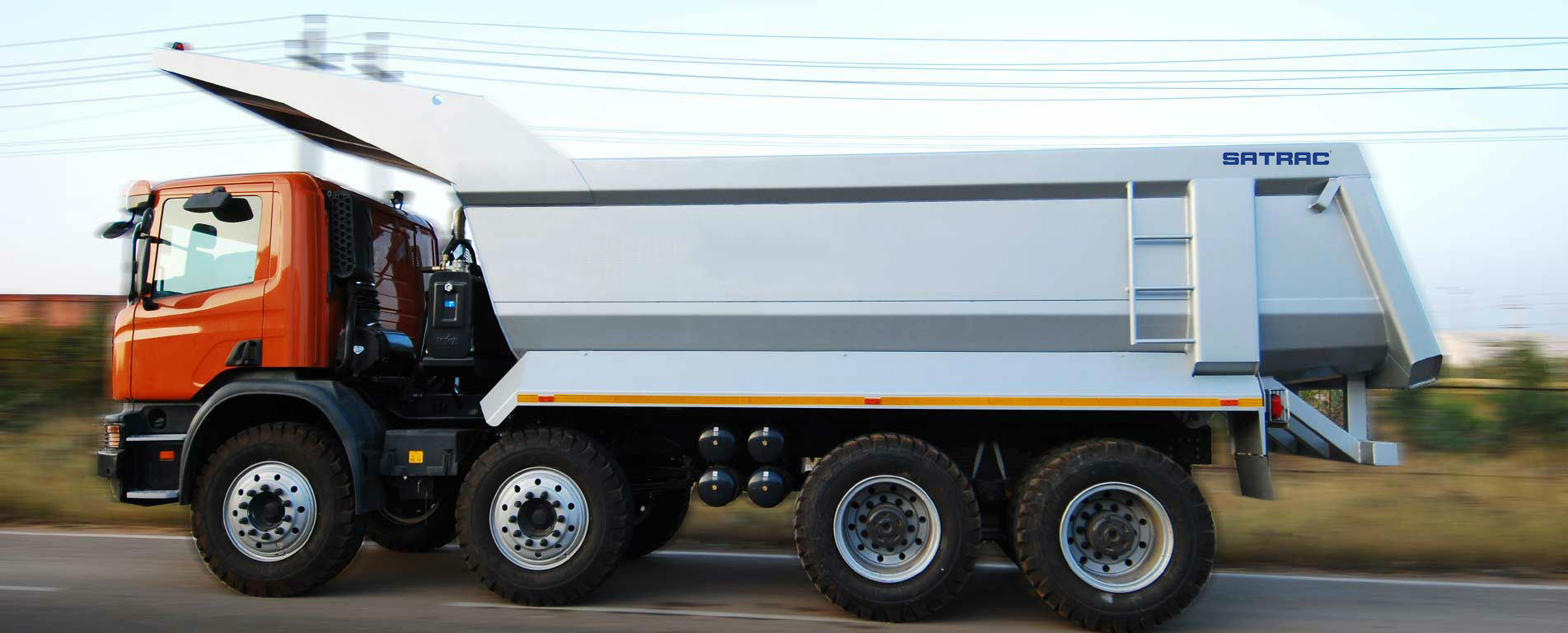 Heavy Duty Tippers Body Manufacturers
