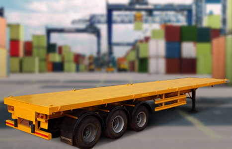 Heavy Load Flat Bed Trailers Manufacturing in India